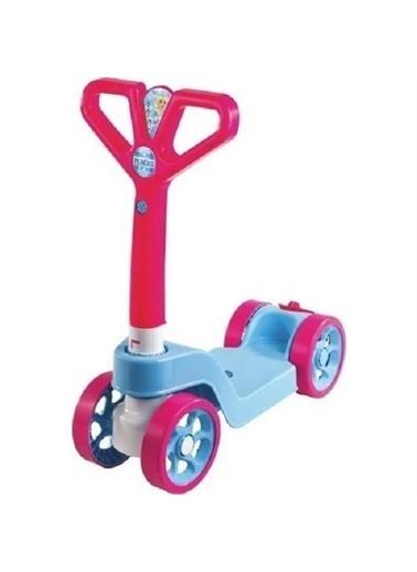 Uniq2Go Furkan Toys Max Speed 4 Tekerlekli Scooter Pembe